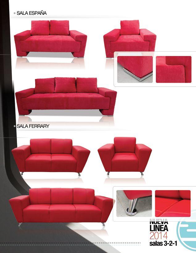 Sala ferrary y sala españa de inlab muebles