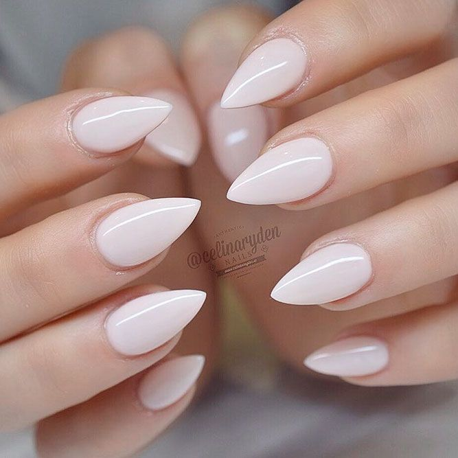 21 Cute Stiletto Nails Designs for Your Inspiration – make up,nails,hair