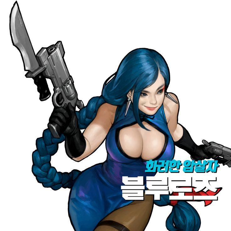 FG 김제나 :: 하이퍼유니버스 공홈 일러스트 추출 + 바탕화면 제작