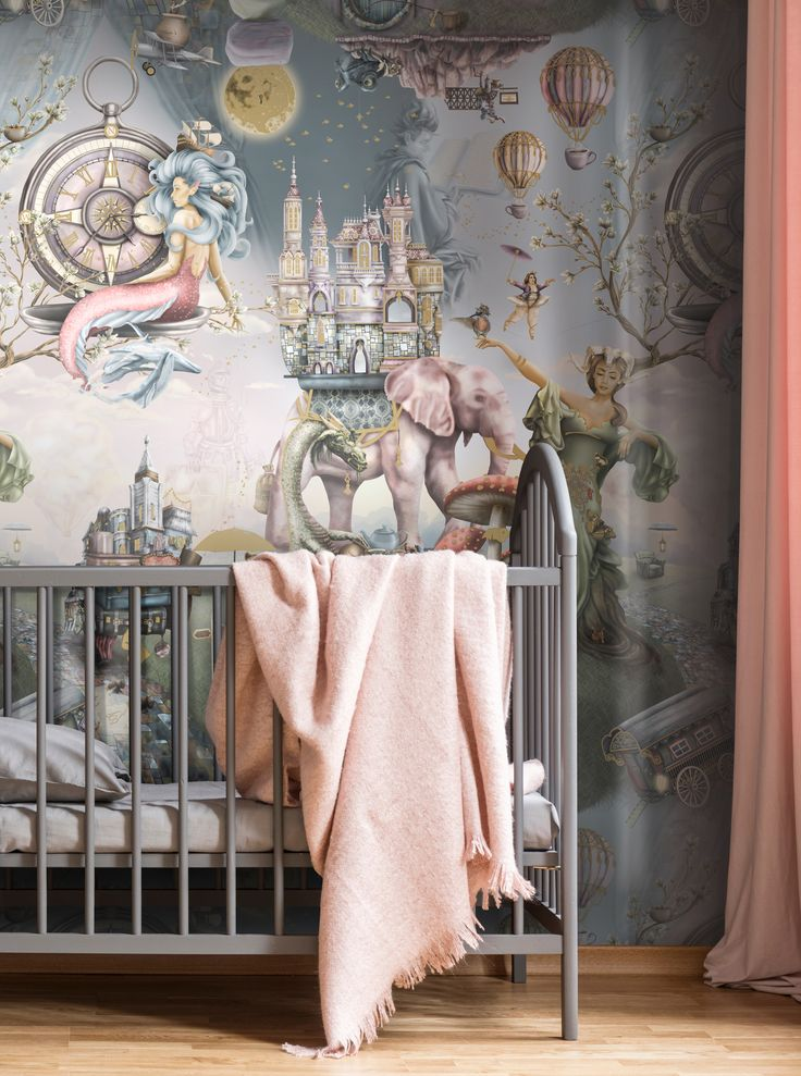 Whimsical Nursery Wallpaper ideas. Amazing and beautiful