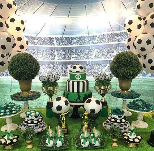 Copa Do Mundo Decoracao De Festa Infantil Festa De Aniversario
