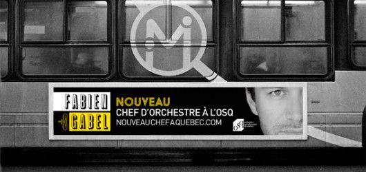 Orchestre symphonique de Québec / Affichage sur autobus / Beez Créativité Média