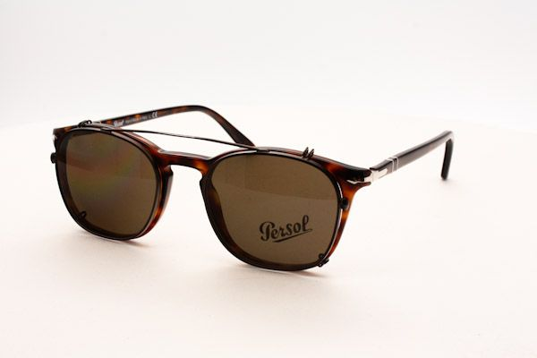 Persol PO3007 with clip-on Zonnebril
