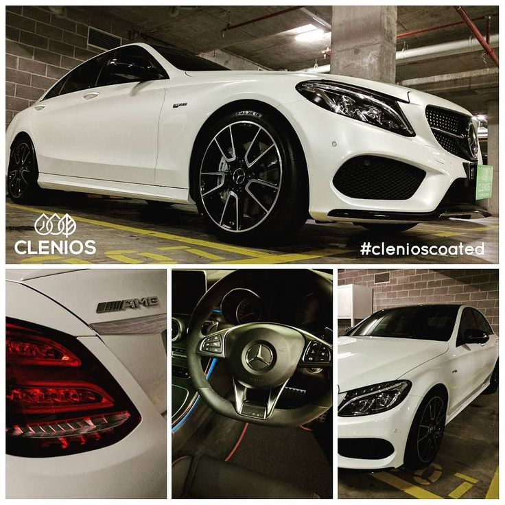 #Mercedes #C43 #AMG #clenioscoated with our hydrophobic nano coating range of products. #drycleaningforcars #mobile #waterlessdetailingsystem #nanocoating #new #Sydney #Australia
