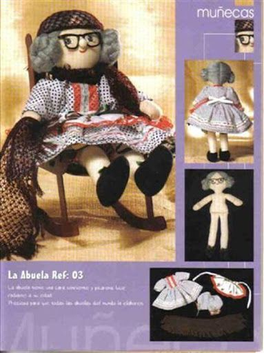 Free Doll Pattern Craft Book