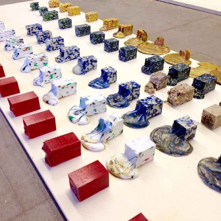 by Dave Hakkens.  Doing a material research on melting plastic