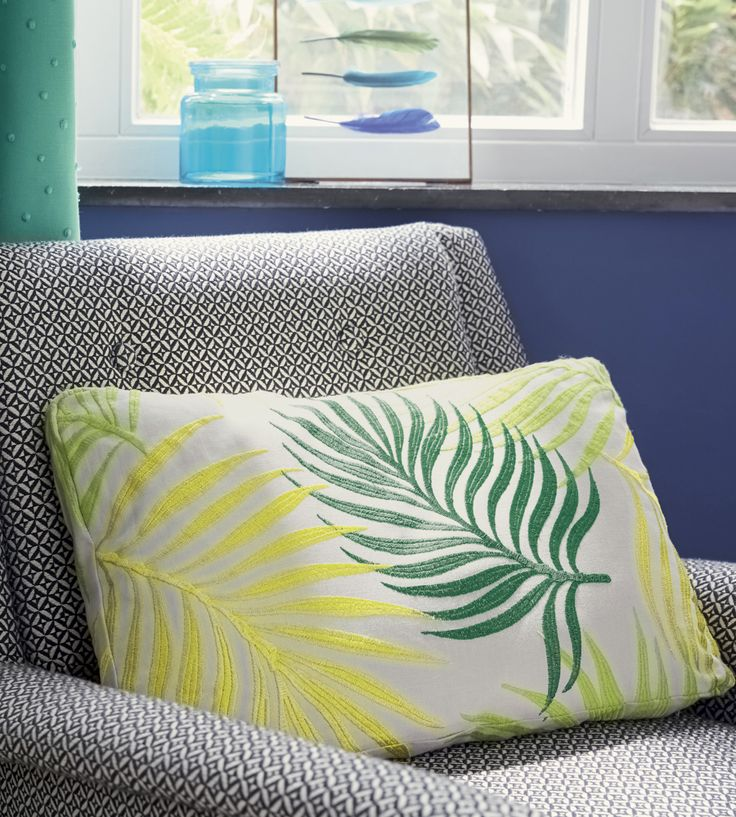 Tropical Interior Trend | Palmeraie Fabric by Camengo | Jane Clayton