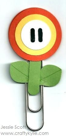 Stampin' Up! Punch Art Mario Bros - Flower Power by cards by Kylie-Jo - Cards and Paper Crafts at Splitcoaststampers