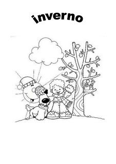 Atividades Para Educacao Infantil Imagens Do Inverno Para Colorir