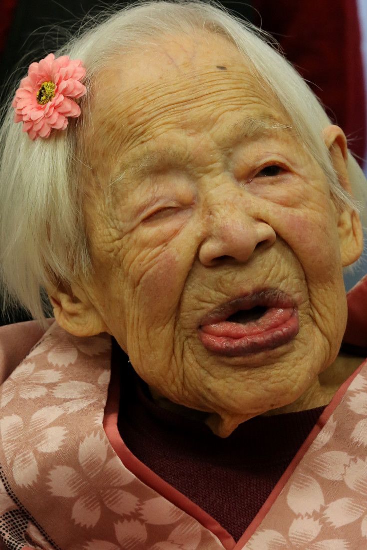 The World's Oldest Person, Misao Okawa, Celebrates Her 117th Birthday With Family In Japan