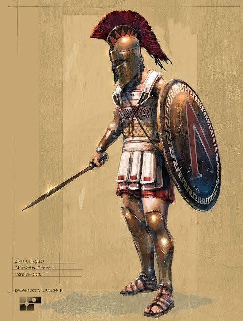 O Clã dos Bardos: Os Guerreiros Hoplitas