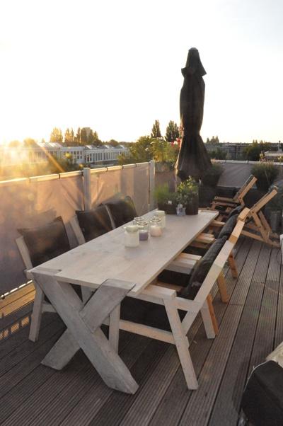 Design tuin-/terrasmeubilair van Jaap van Ulden Meubelmakerij en Ontwerp - www.jaapvanulden.nl