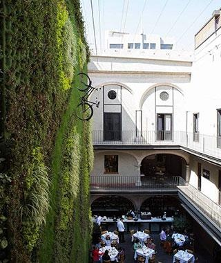 Downtown Mexico Hotel By Local Hoteliers Grupo Habita Is In The 17th Century