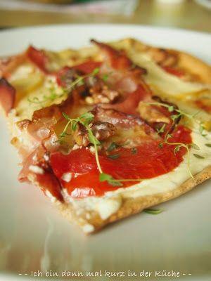 99 besten pizza quiche co bilder auf pinterest quiches flammkuchen und rezepte. Black Bedroom Furniture Sets. Home Design Ideas