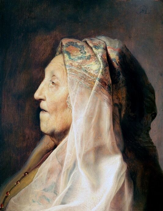 Jan Lievens.. Rembrandt ' s friend and they lived together for a while. The woman who painted by jan Lievens is Rembrandt's mother. .