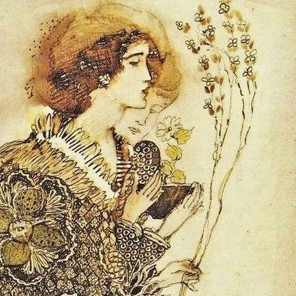art deco ❈ annie french (govan I872 † saint helier I965) scottish painter engraver illustrator and designer associated with the glasgow school