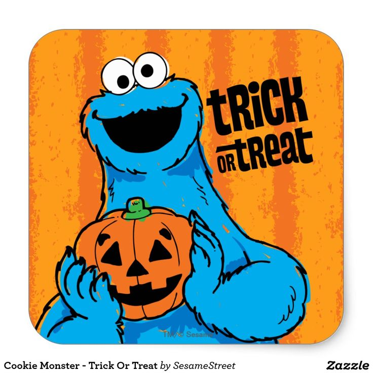 Cookie Monster - Trick Or Treat #sticker