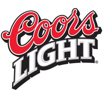 Coors Light Classic Logo Decal