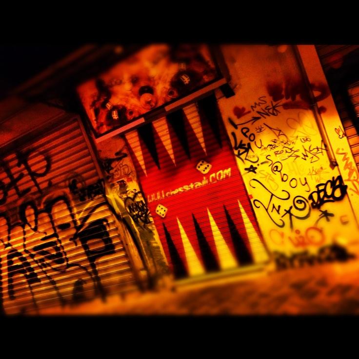 Nightlife Graffiti.