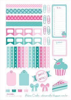 FREE Alana Crafts: Planner Printable!