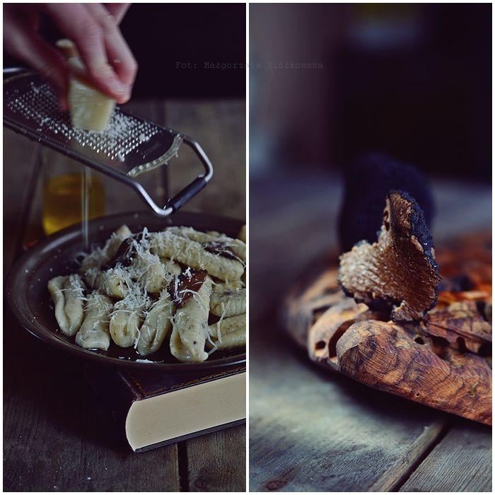 Smaki Alzacji : Truflowe gnocchi z oliwą i parmezanem