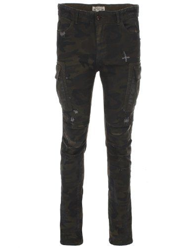 FLATSEVEN Homme Distressed Skinny Fit Délavé Pierre Denim Jeans (DN19121), Size S FLATSEVEN http://www.amazon.fr/dp/B00JPYGFA6/ref=cm_sw_r_pi_dp_4pj8tb0PY5AHZ