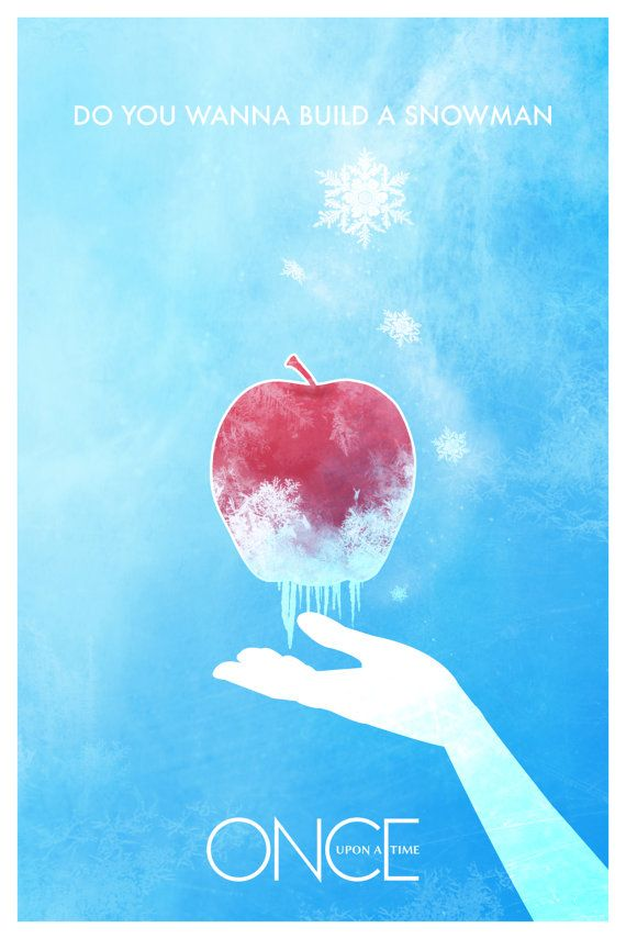 Frozen Once Upon A Time Poster