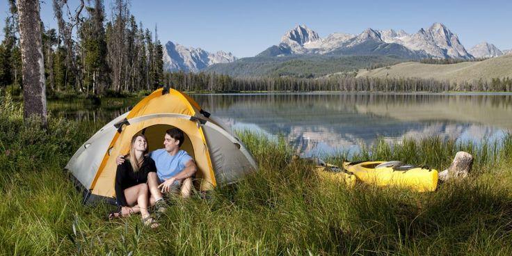Hey ho, let's go: 25 prachtige plekken om je tent op te slaan in de VS