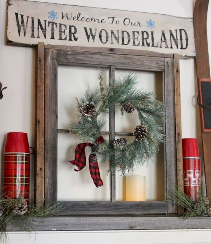 15 Thrifty And Chic Diy Home Decorating Ideas: 15 DIY Farmhouse Style Christmas Decorating Ideas
