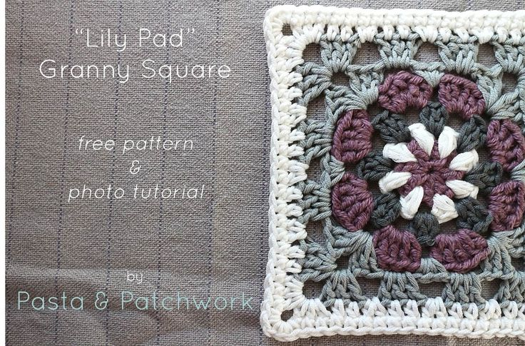 Pasta & Patchwork: free pattern and tutorial for this gorgeous Lily Pad square!