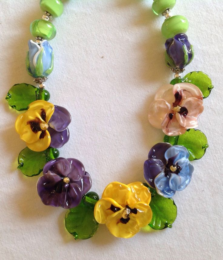 PANSIES handmade by Deb Bell from the DEB BELL DESIGN STUDIO  In New Zealand.
