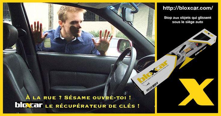 A la rue ?  Sésame ouvre toi ! BloXcar le récupérateur de clés ! #GadgetUtile #AccessoireAutomobile #Voiture https://www.facebook.com/pages/BloXcar/1516319771954512