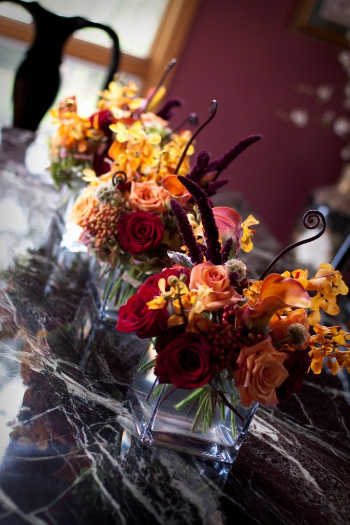Fall wedding Centerpieces I like the