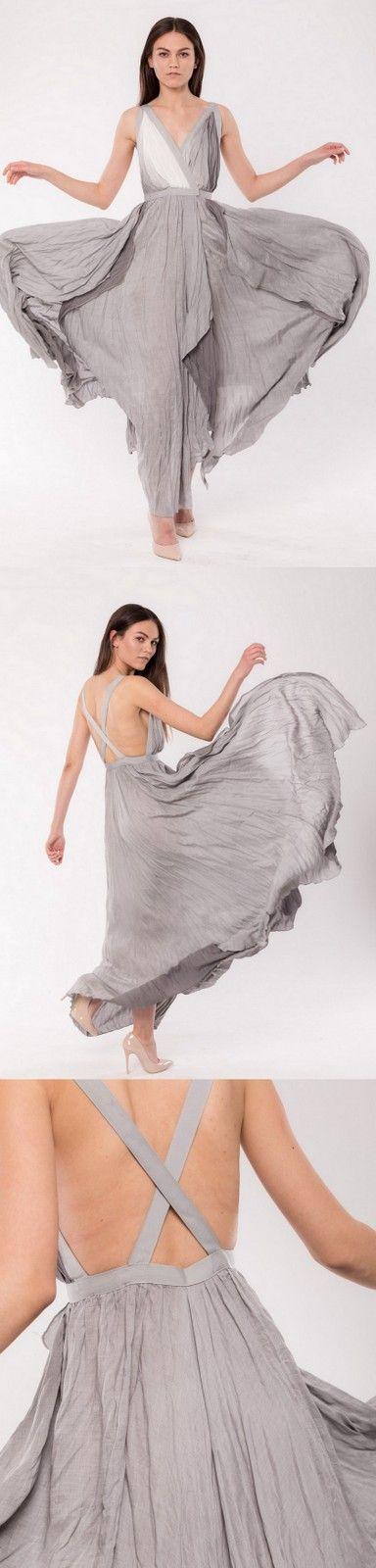 made to order 'red carpet' dress, designer Anna Fludra