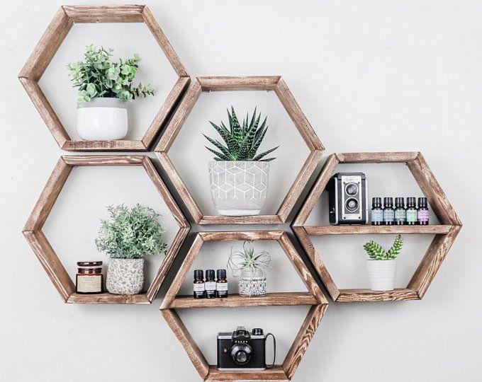 Geometric Modern Shelving Triangle Shelf Minimalist Home