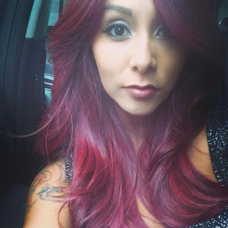 I love the color of snooki's hair!!