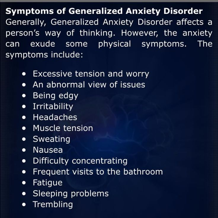 Best 25+ Generalized anxiety disorder ideas on Pinterest ...
