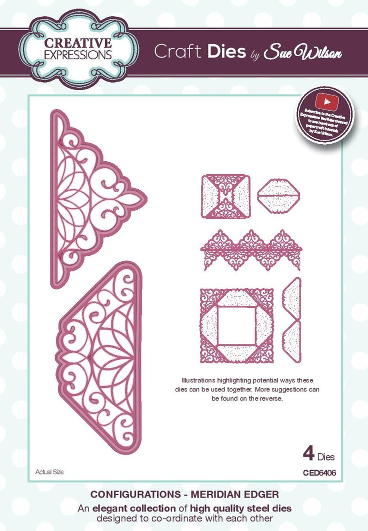 swirly lace edger - configurations