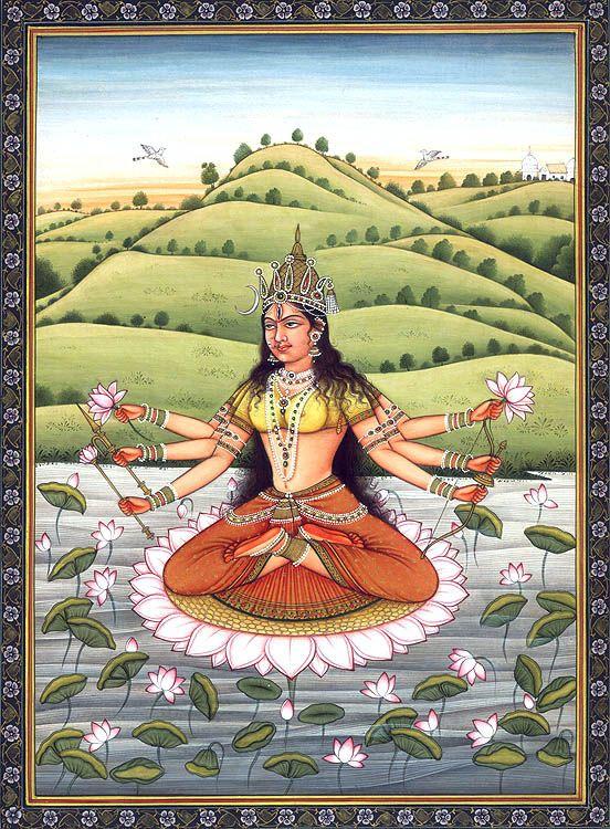 Mahavidya Goddess Bhuwaneshvari