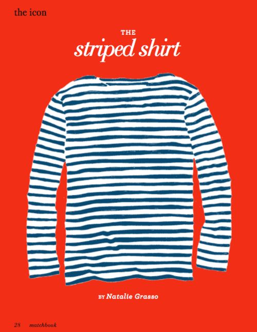 I have such an obsession with Breton stripes.