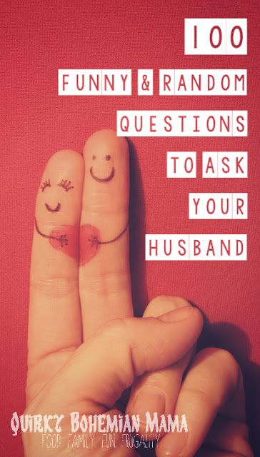 Quirky Bohemian Mama - A Bohemian Mom Blog: 100 Funny & Random Questions to Ask Your Husband {date night conversation starters}