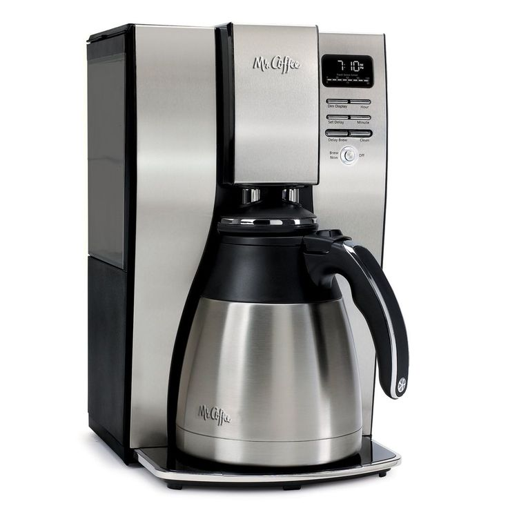 Mr. Coffee 10-Cup Optimal Brew Thermal Coffee Maker, Stainless Steel Top Quality #MrCoffee