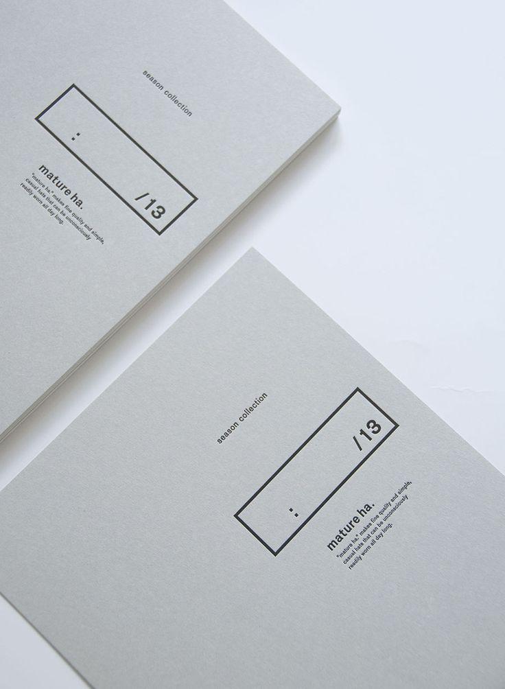 pure white editorial design | typography / graphic design: Triton Graphics Incorp | Mature ha |