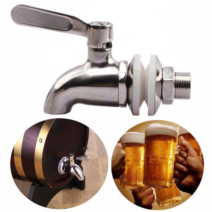 304 Stainless Steel Faucet Tap for Home Brew Barrel Fermenter Wine Beer Beverage Juice Dispenser Spigot Drink Fridge Kegs on Aliexpress.com | Alibaba Group