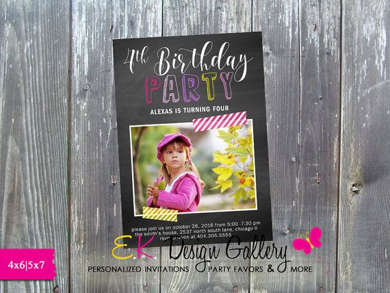 93 best birthday invitations images on pinterest | costco, Birthday invitations