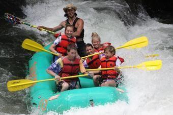Nantahala River rafting