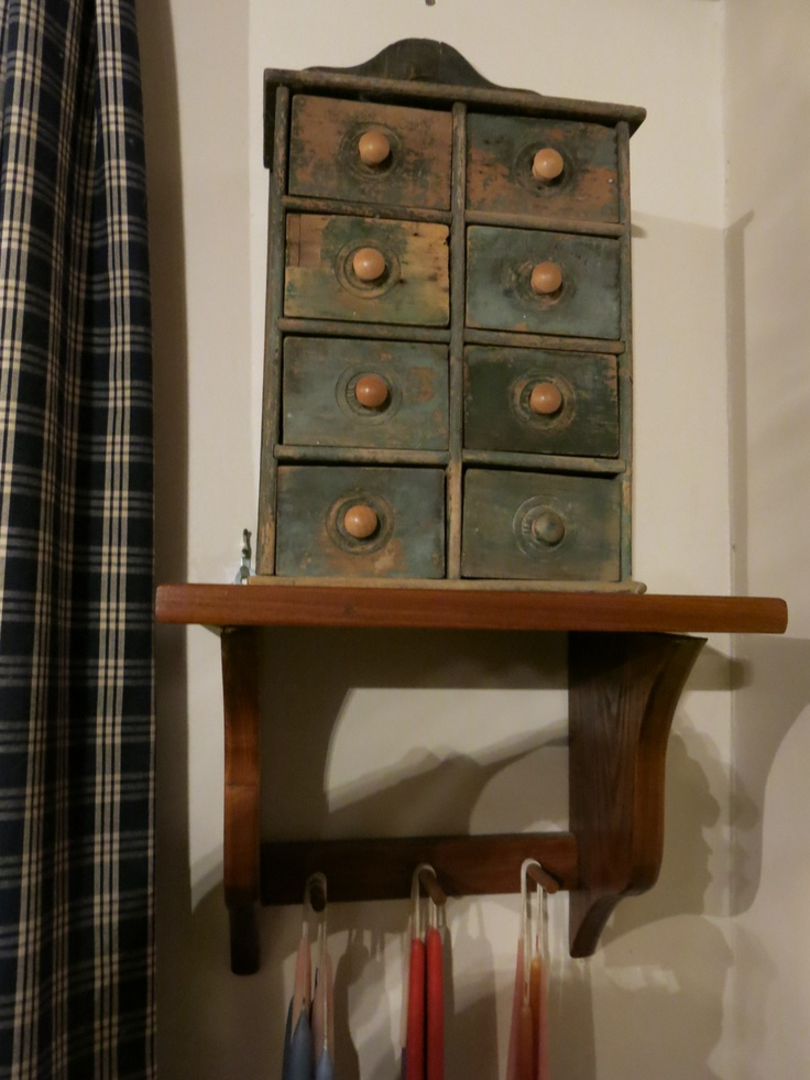1000 Images About Primitive Spice Cabinets On Pinterest