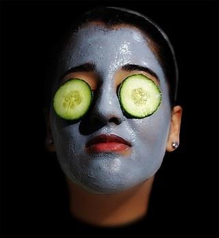 természetes arcpakolások