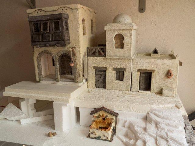 Foro de Belenismo - Arquitectura y paisaje -> Me estreno en el foro. Saludos.