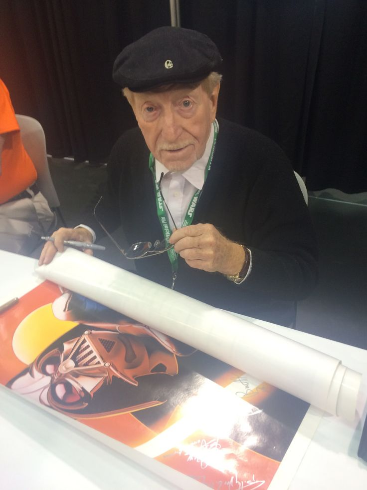 https://flic.kr/p/MKkGko | Clive Revill, the voice of the original Emperor in The Empire Strikes Back | Star Wars Celebration Anaheim 2015